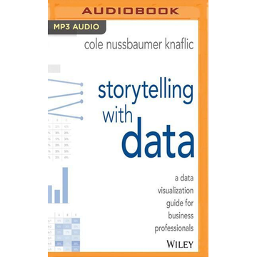 Nussbaumer Knaflic, Cole Storytelling with Data: A Data Visualization Guide for Business Professionals