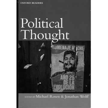 Michael Rosen, Jonathan Wolff ISBN Political Thought book 448 pages