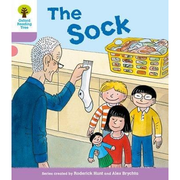 Hunt, Roderick Oxford Reading Tree: Level 1+ More a Decode and Develop The Sock