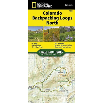 National Geographic Maps Colorado Backpack Loops North