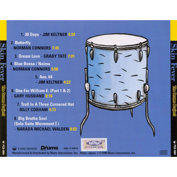 Various Artists Skin Fever: The Drums Project on the 4