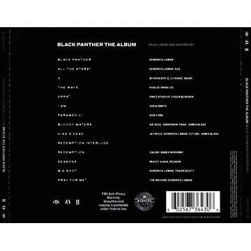 OST/Various Black Panther: The Album [Music from and Inspired By]