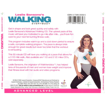 Leslie Sansone Walking for Everybody: Advanced Level