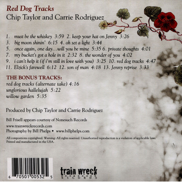 Taylor,Chip Red Dog Tracks