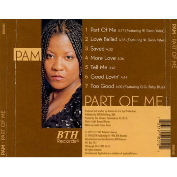 Pam Part of Me