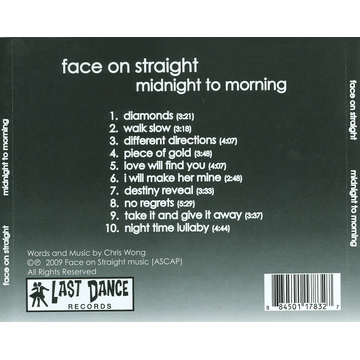 Face on Straight Midnight to Morning