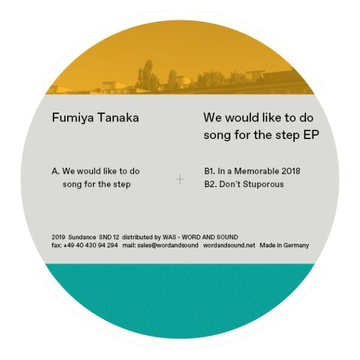 Fumiya Tanaka We Would Like to Do Song for the Step
