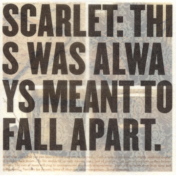 SCARLET This Was Always Meant to Fall Apart