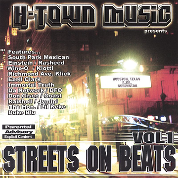 Various Artists H-Town Music: Streets on Beats, Vol. 1