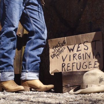 Jack Ballengee Morris West Virginia Refugee