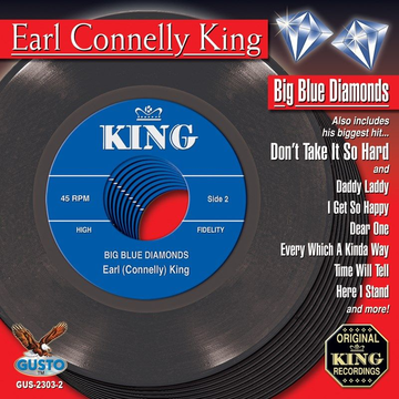 Earl Connelly King Big Blue Diamonds