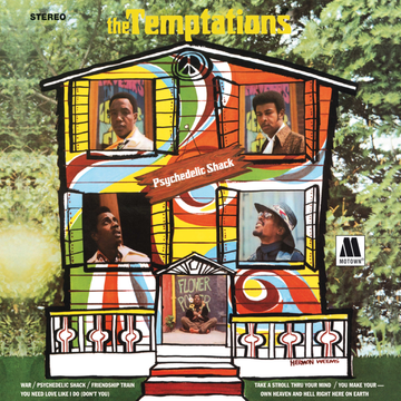 The Temptations Psychedelic Shack