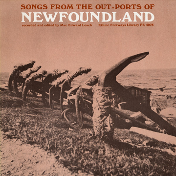 Various Artists Songs of the Out-Ports of Newfoundland