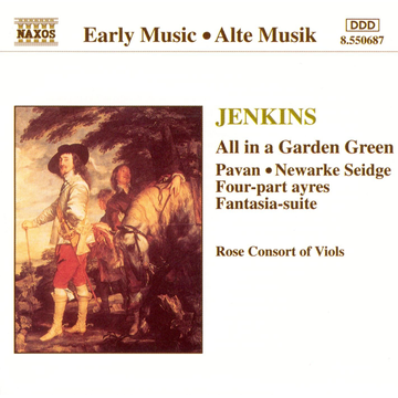 Rose Consort of Viols Jenkins: All in a Garden Green