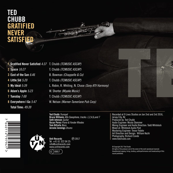 Chubb,Ted - Gratified Never Satisfied