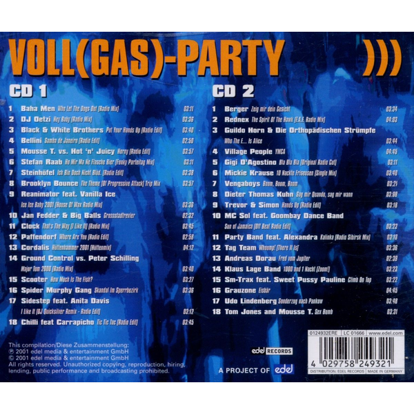 VARIOUS - VOLL(GAS)-PARTY