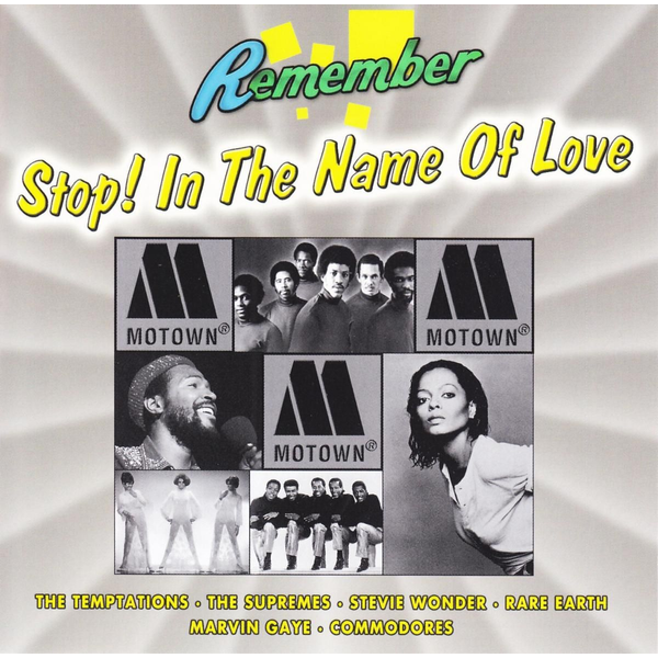 Various - Motown - Stop! In The Name Of Love