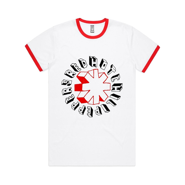 Red Hot Chili Peppers - Hand Drawn (Ringer) T-Shirt XL
