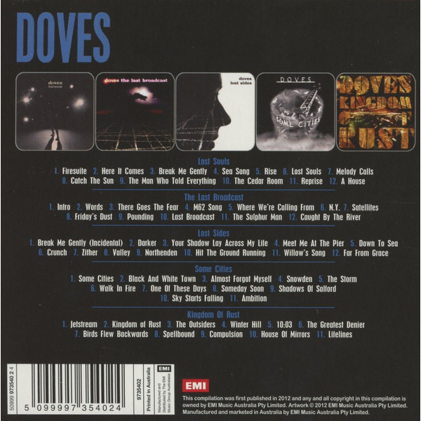 Doves - 5 Album Set