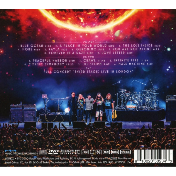 Flying Colors - Third Stage: Live In London (2CD+DVD Digipak)