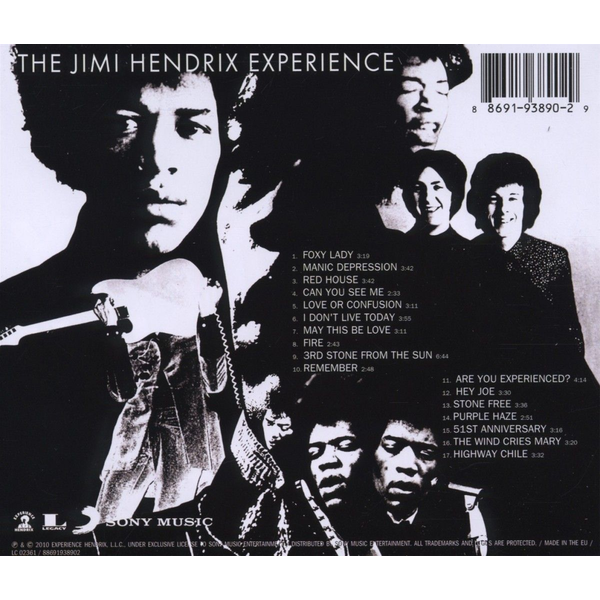 Hendrix,Jimi Experience - Are You Experienced