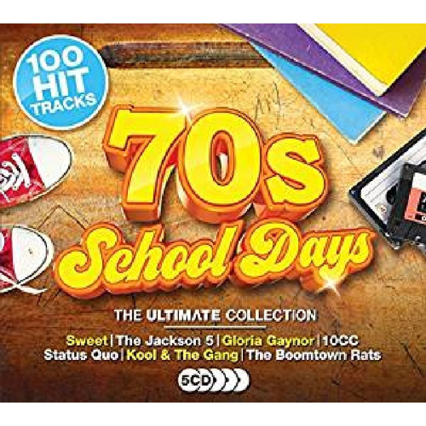 Various - '70s Schooldays: The Ultimate Collection [2017]