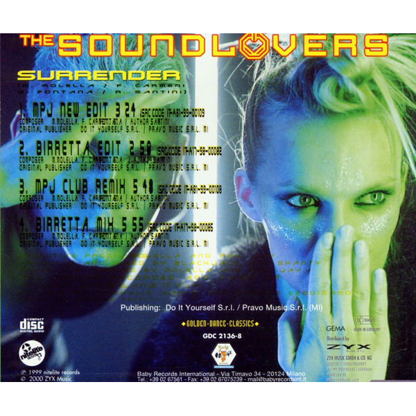 Soundlovers,The - Surrender