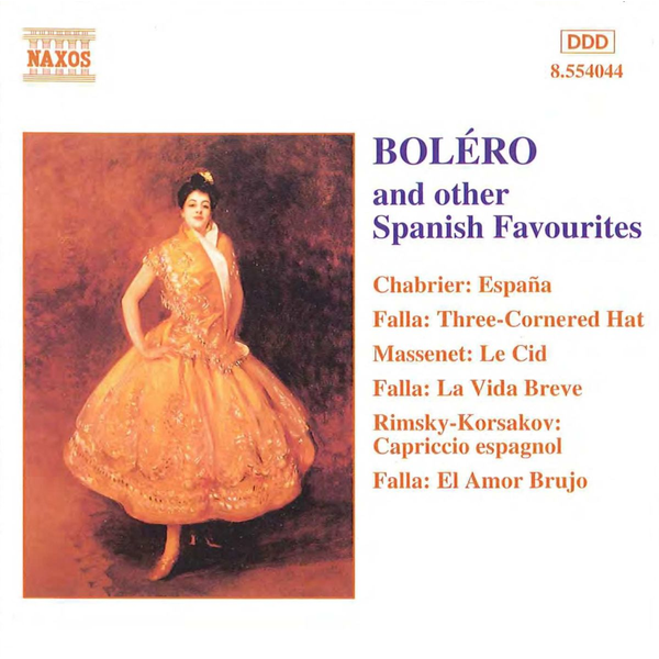 Leaper - Boléro and other Spanish Favourites