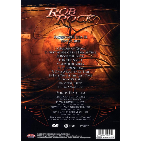 Rob Rock - The Voice Of Melodic Metal Live In Atlanta