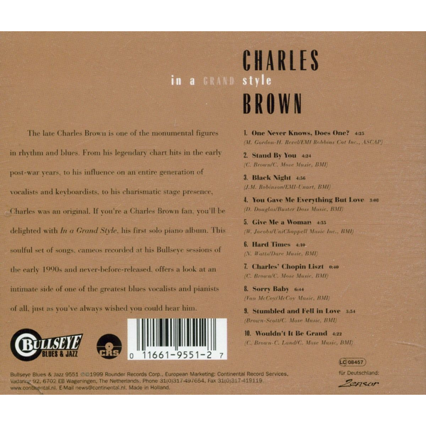 Brown,Charles - In A Grand Style