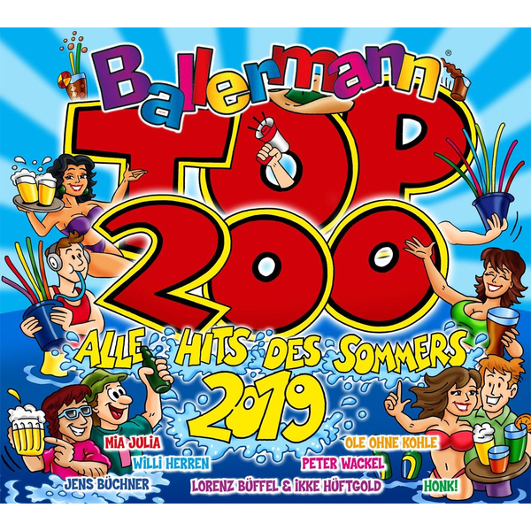 Various Ballermann Top 200 Alle Hits Des Sommers 2019