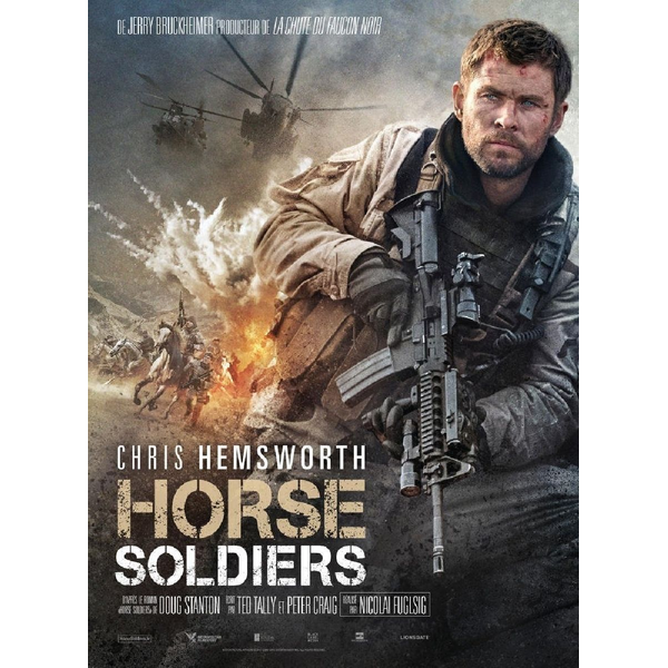 Blu-Ray Disc - Horse Soldiers - Steelbook limitee (f)