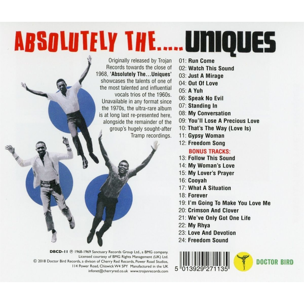 Uniques,The - Absolutely The Uniques (Expanded Edition)