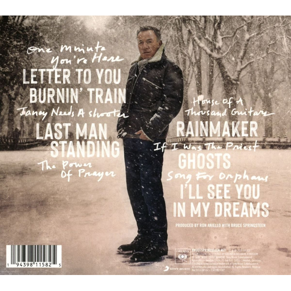 Springsteen,Bruce - Letter To You