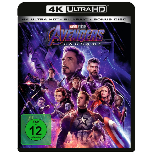 Russo, Anthony - Avengers - Endgame - 4K + 2D - (3 Disc)