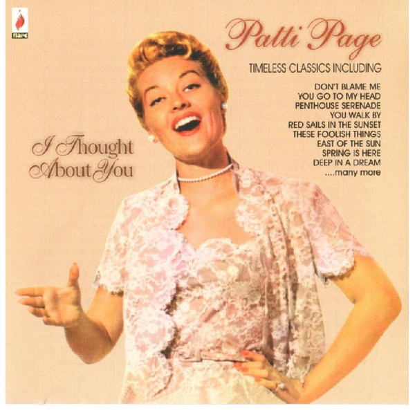 Page,Patti - I Thought About You