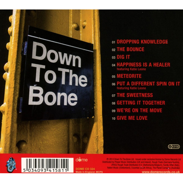 Down To The Bone - Dig It