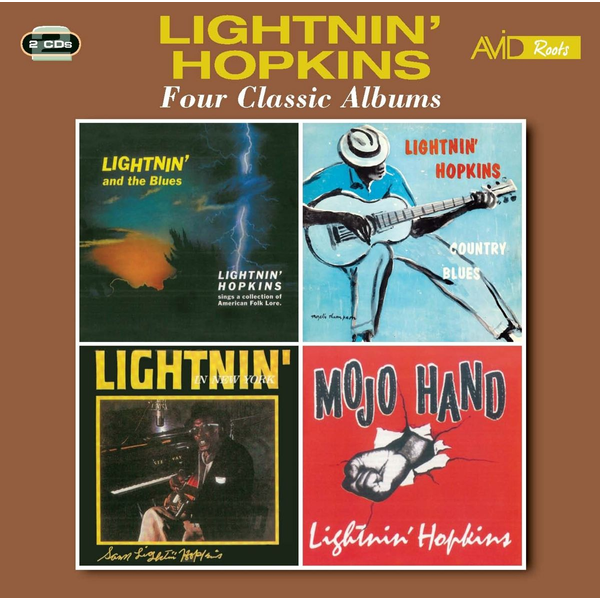 Lightnin' Hopkins - Four Classic Albums
