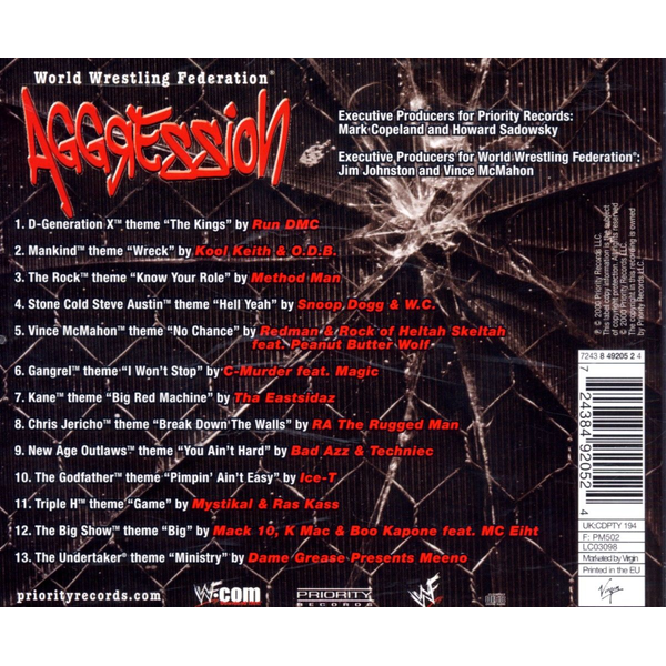 VARIOUS - WWF Aggression