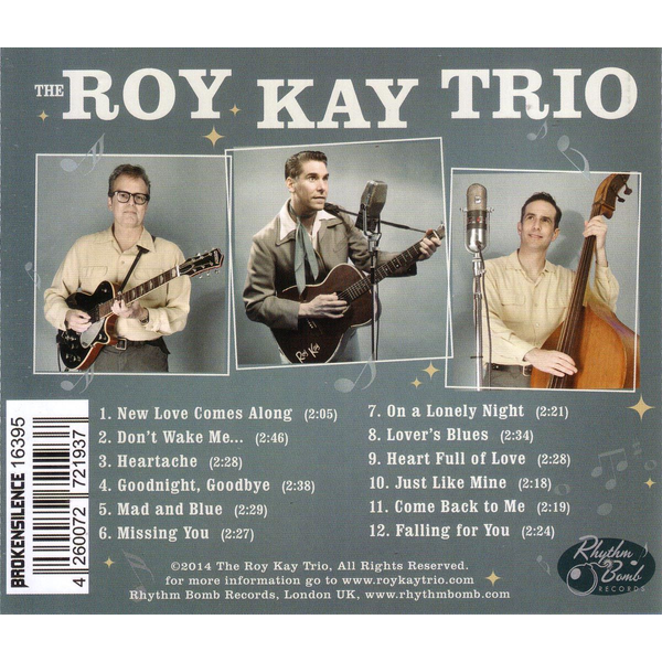 Roy Kay Trio,The - Mad And Blue