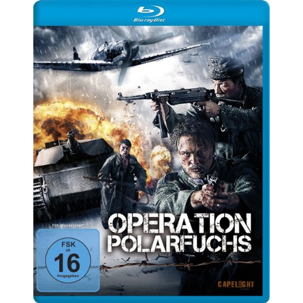 Richard Holm - Alive AG Operation Polarfuchs Blu-ray German, Swedish