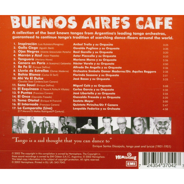 Various - Buenos Aires Cafe