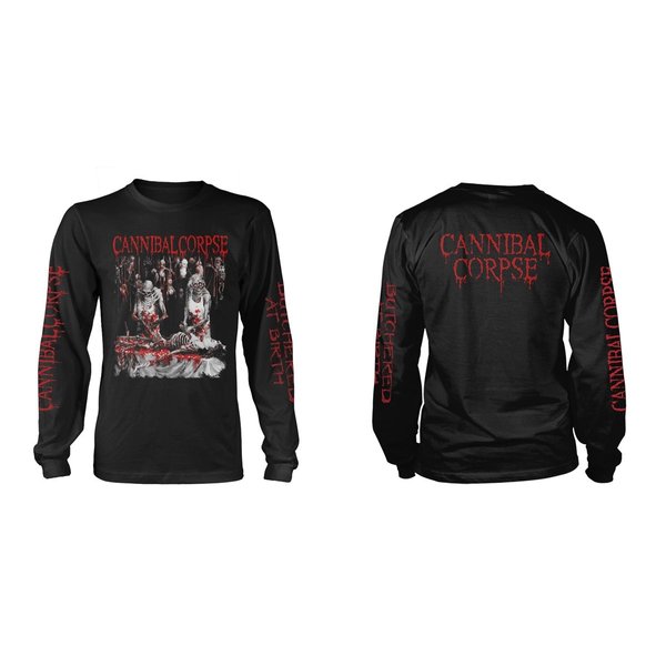 Cannibal Corpse - Butchered At Birth (Explicit) Longsleeve S