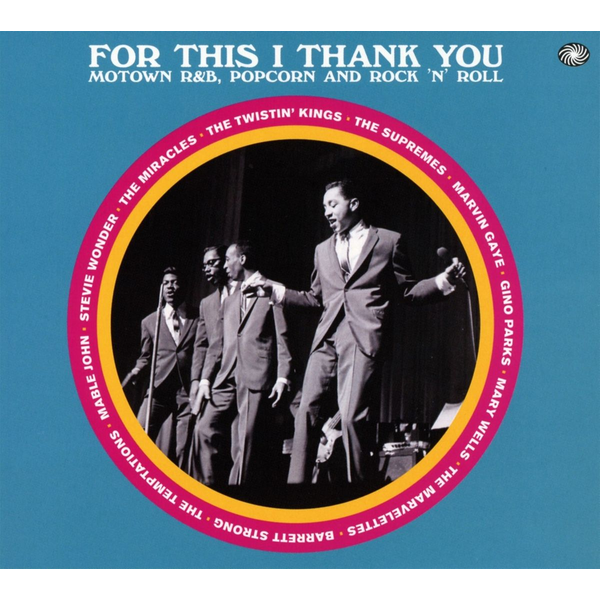 Various - For This I Thank You (Motown R&B,Pop&R&R