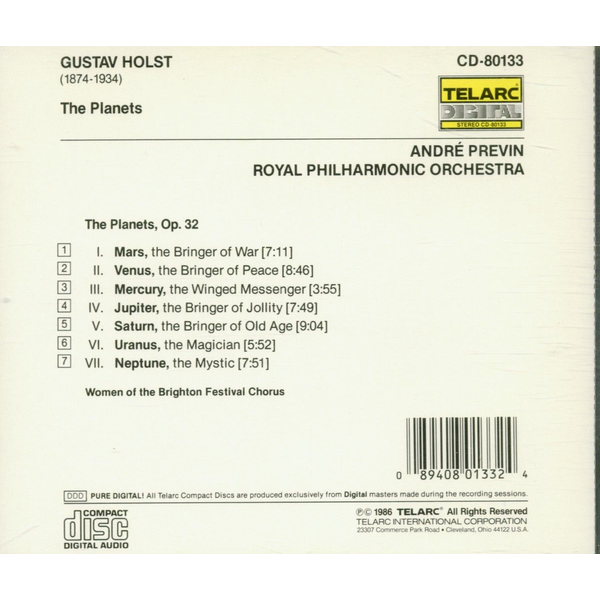 Previn,Andre - Holst: The Planets