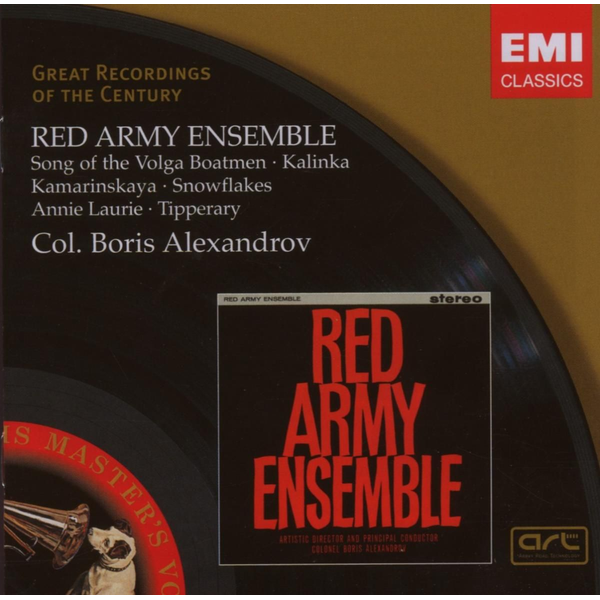 Red Army Ensemble - Songs Of The Volga Boatmen