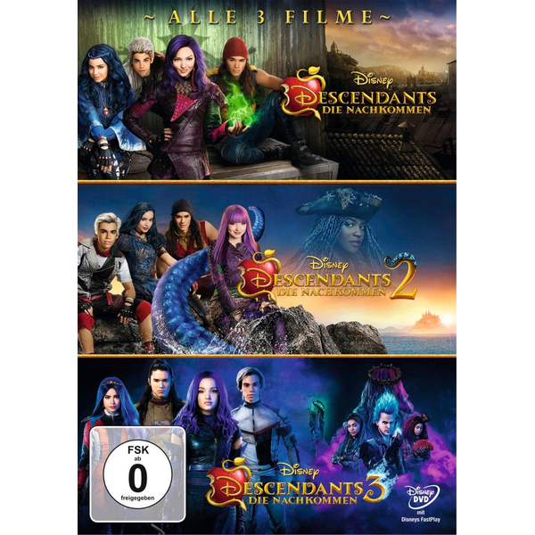 Ortega, Kenny - Descendants 1-3