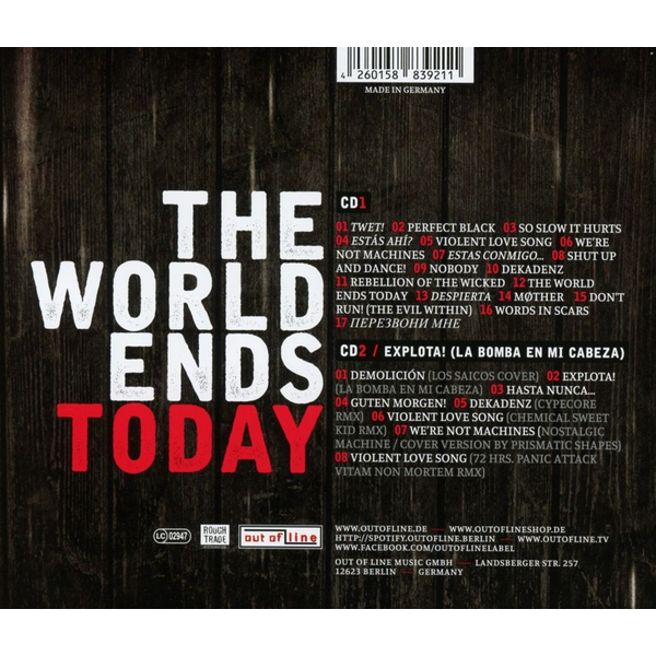 Rabia Sorda - World Ends Today