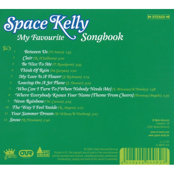 Space Kelly - My Favourite Songbook
