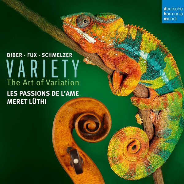 Passions de l'Ame,Les - Variety-Variation in Music for Violin